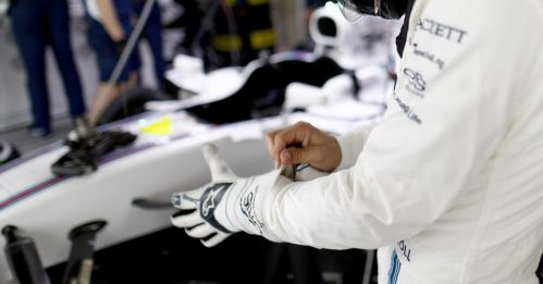 TC-supported biometric glove featured in F1 Bahrain GP at the weekend
